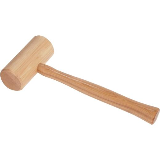 Do it Best 16 Oz. Hickory Mallet with Hickory Handle