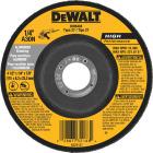 DeWalt HP Type 27 4-1/2 In. x 1/4 In. x 7/8 In. Aluminum Grinding Cut-Off Wheel Image 1