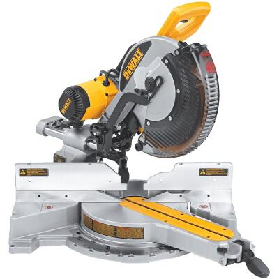 DeWalt 12 In. 15-Amp Dual-Bevel Sliding Compound Miter Saw