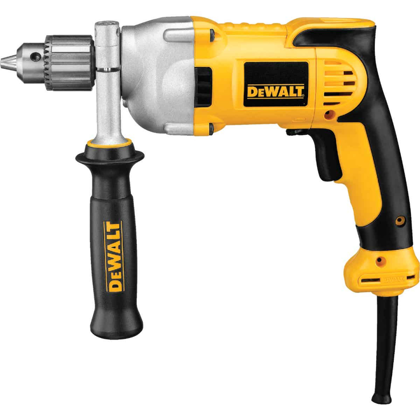 DeWalt 1/2 In. 10-Amp Keyed Electric Drill with Pistol Grip Image 1