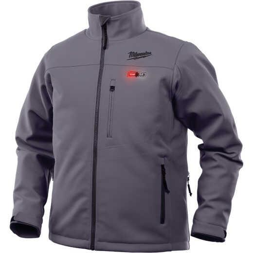 Milwaukee M12 Heated ToughShell XL Gray Cordless Jacket Kit