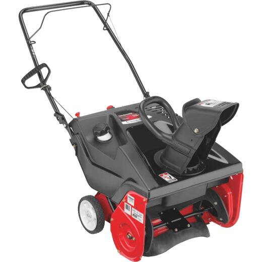 Troy-Bilt 21 In. 123cc Single-Stage Gas Snow Blower