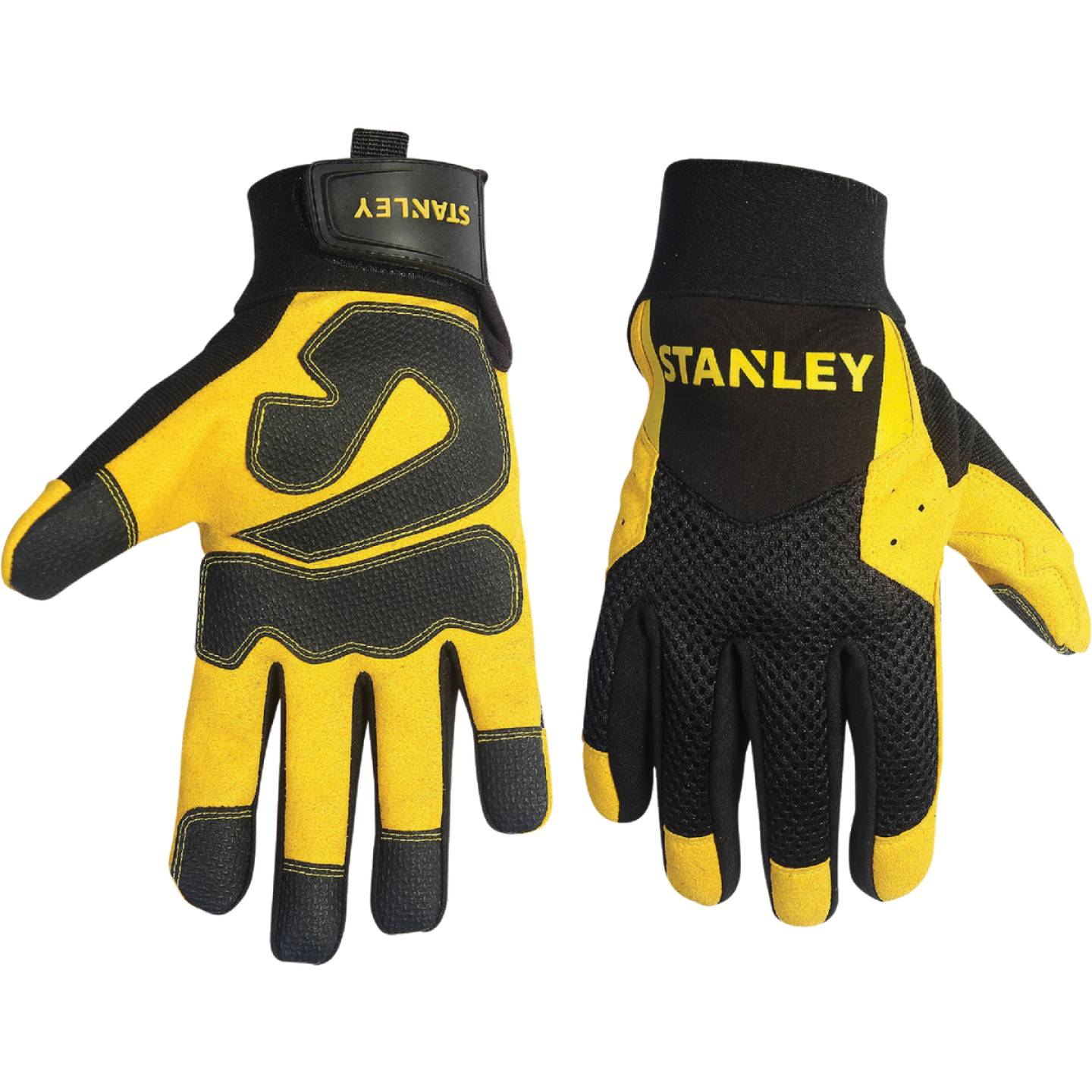 Stanley Men's Large Synthetic Leather High Performance Glove Image 1
