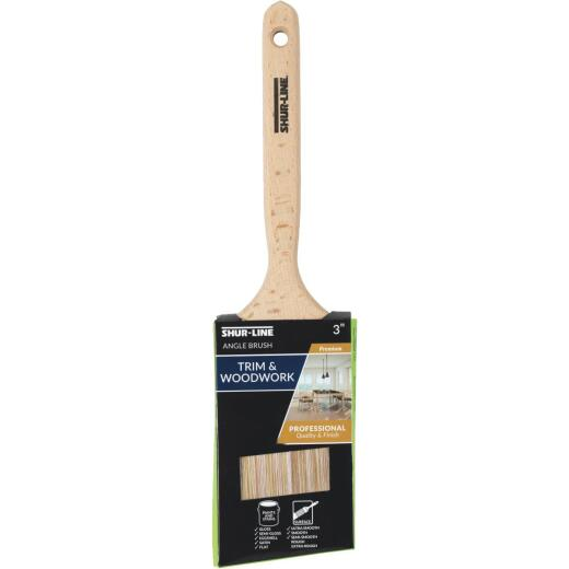 Shur-Line Shur-Flow Paint + Primer 3 In. Angle Paint Brush